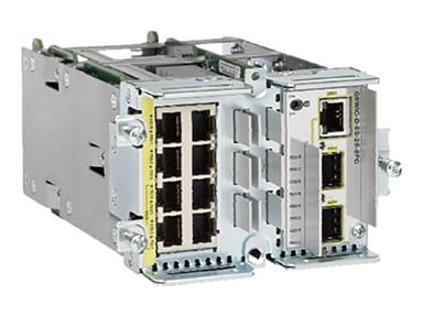 Cisco Etherswitch 8X 10/100T (4 POE) Ports + 2 100/1000 Sfp