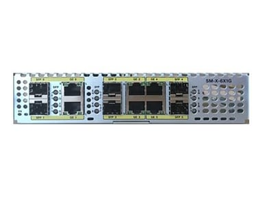 Cisco SM-X-6X1G Gigabit Ethernet Service Module