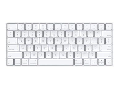 Apple Magic Keyboard - Engelska (US) Trådlös Amerikansk Silver Vit