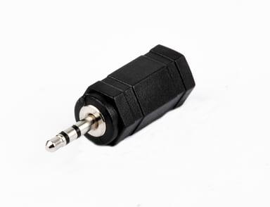 Prokord Audio-adapter Mini-phone stereo 3.5 mm Hona Underminitelefon, stereo 2,5 mm Hane