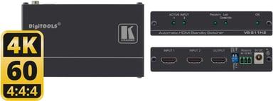 Kramer Vs-211H2 Automatic 4K Uhd HDMI Standby Switcher