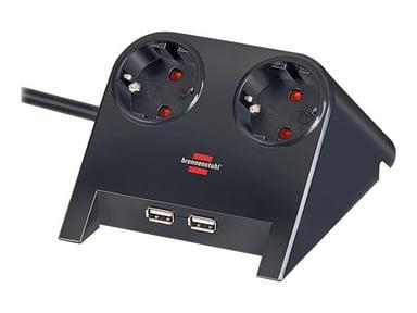Brennenstuhl Desktop-Power USB-Charger