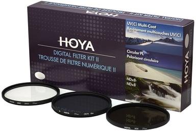 HOYA Filterkit UV(C) Pol.Circ. NDx8 77mm