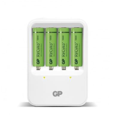 GP Recyko PB420 Charger + 4xAA