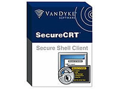 Vandyke Software Secure CRT + FX 3Y Mnt 2-9 Usr E-Lic