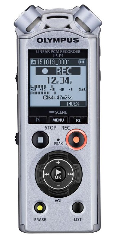 Olympus LS-P1 PCM Recorder Incl NiMh Battery null