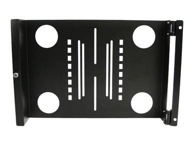 "Startech Universal Swivel VESA LCD Monitor Mounting Bracket for 19in Rack or Cabinet 19"" 16kg 16kg"
