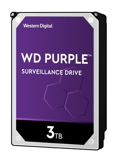 "WD Purple 3TB 3.5"" Serial ATA-600"