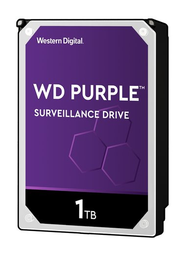 "WD Purple Surveillance Hard Drive WD10PURZ 1TB 3.5"" Serial ATA-600"