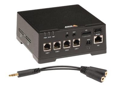 Axis F44 Dual Audio Input Main Unit