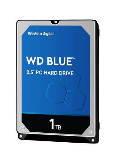 """WD Blue 1Tt 2.5"""" 5,400kierrosta/min"""