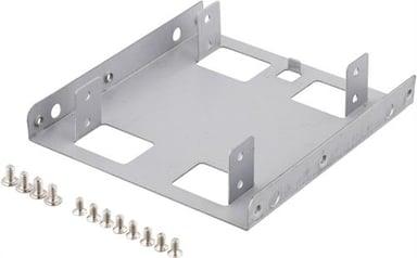 """Deltaco Adapter för lagringsfack 2X2.5"""" i 3.5"""" fack"""