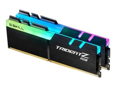 G.Skill Gskill Trident Z RGB 16GB (2X8) DDR4 3600MHz 16GB 16GB 3,600MHz DDR4 SDRAM DIMM 288-PIN
