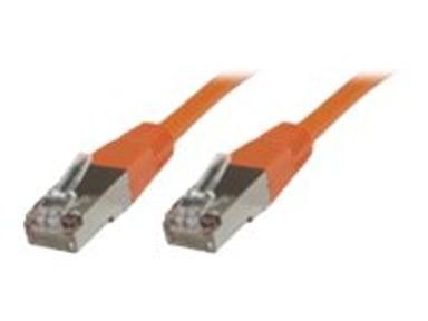 Microconnect Nätverkskabel RJ-45 RJ-45 CAT 6 1m Orange