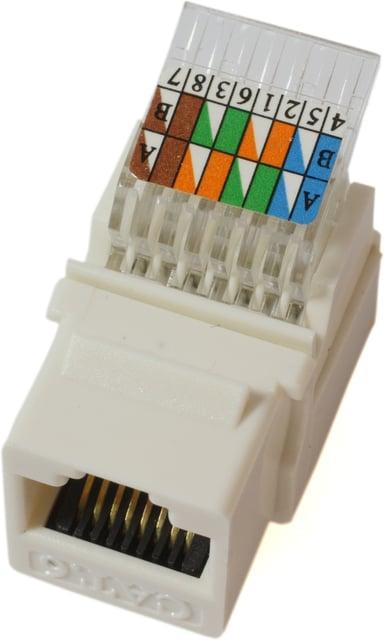 Microconnect Keystone RJ45 LSA CAT6 UTP