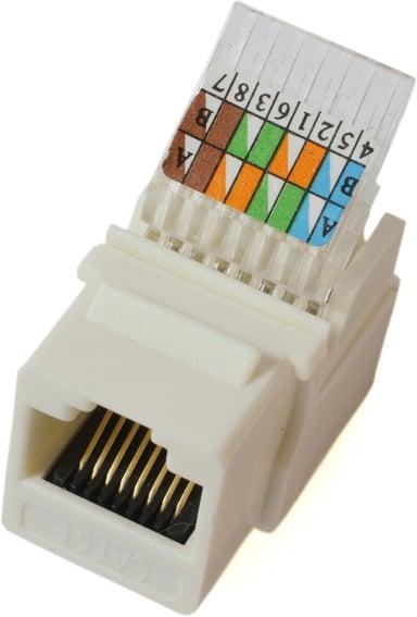 Microconnect Keystone RJ45 LSA CAT5e UTP