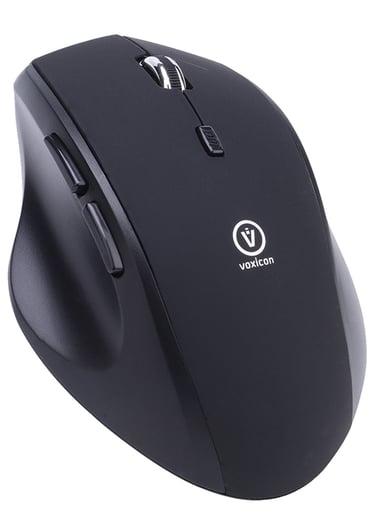 Voxicon Office M50WLB 1,600dpi Mus Trådløs Svart