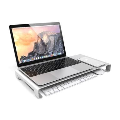 Satechi Aluminum Slim Monitor Stand Silver