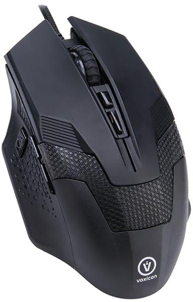 Voxicon Gaming GR8-10 3,200dpi Mus Kabelansluten Svart