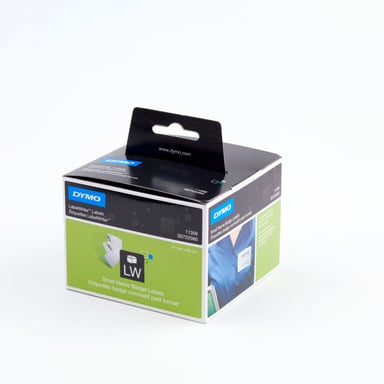 Dymo Etiketter Navneskilt 89 x 41 mm Aftagelig - LW