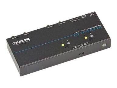 Black Box 4K HDMI Matrix Switch 2 x 2