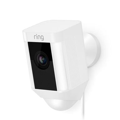 Ring Spotliight Kamera Kablet - Hvit