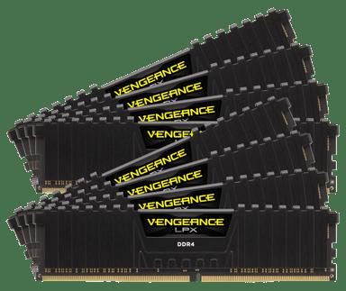 Corsair Vengeance LPX 64GB 64GB 2,933MHz DDR4 SDRAM DIMM 288-pin