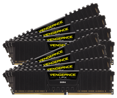 Corsair Vengeance LPX 128GB 128GB 2,933MHz DDR4 SDRAM DIMM 288-pin