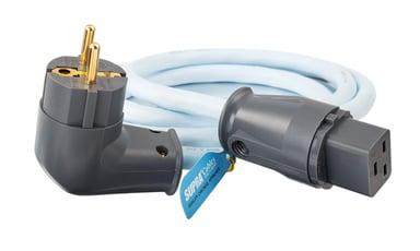 Jenving SUPRA LoRad 2.5 2m Ström CEE 7/4 Hane Ström IEC 60320 C14