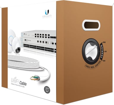 Ubiquiti UniFI CAT 6 Unshielded twisted pair (UTP) Wit 305m