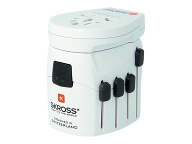 Skross World Travel Adapter PRO World & USB null
