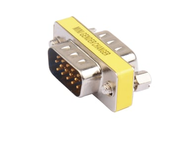 Prokord Prokord Gender Changer HD15mA - HD15mA Low-Profile VGA Hann VGA Hann
