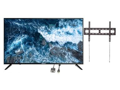 "Voxicon VXR355UN 55"" 4K LED Smart Netflix -neuvottelupaketti"