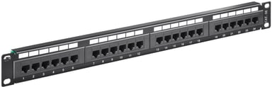 Microconnect Patchpanel 24 porter UTP CAT 5e