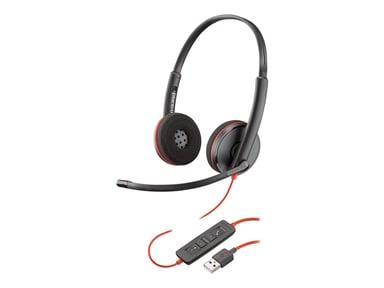 Poly Blackwire C3220 USB Sort