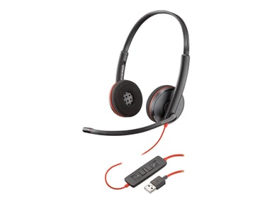 Poly Blackwire C3220 USB Svart