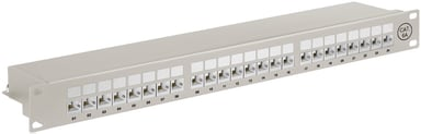 Microconnect Patchpanel 24 portar Skärmad (STP) CAT 6a