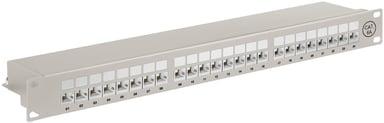 Microconnect Patchpanel 24 porttia Suojattu parikaapeli CAT 6a