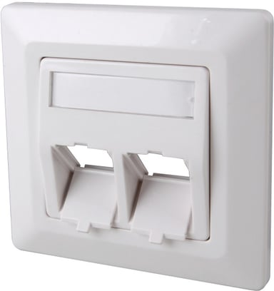 Direktronik Wall Outlet Keystone 2-port