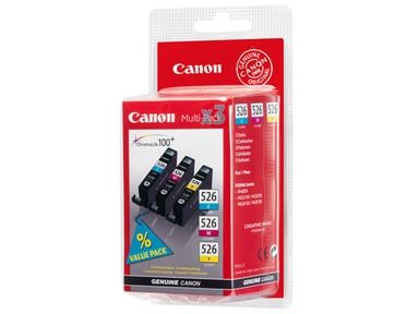 Canon Blæk Multipak CLI-526 (C/M/Y)