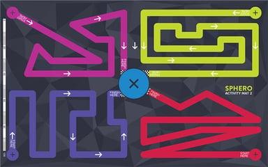 Sphero Aktivitetsmåtte Måtte 2 - Maze Måtte