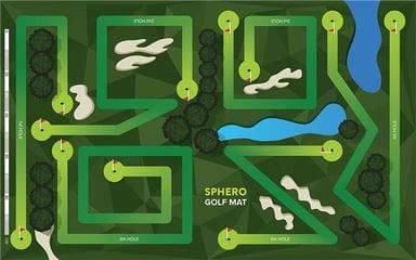 Sphero Aktivitetsmatta Matta 3 - Golf Bana Matta