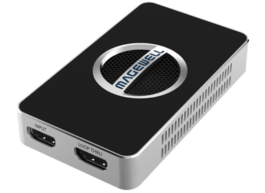 Magewell USB Capture HDMI 4K Plus Svart Svart
