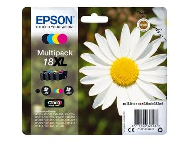 Epson Bläck Multipack (B/C/M/Y) 18XL - XP-302
