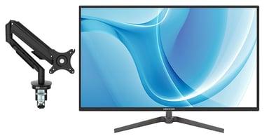"""Voxicon G32QHD IPS med höj och sänkbar gasarm 31.5"""" 2560 x 1440 16:9"""