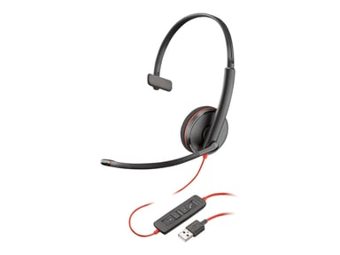 Plantronics Blackwire C3210 USB Svart