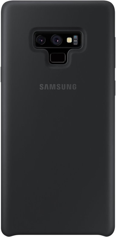 Samsung Soft Touch Silicone Cover EF-PN960 Samsung Galaxy Note 9 Zwart