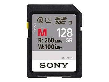 Sony SF-M Series SF-M128 128GB SDXC UHS-II minneskort