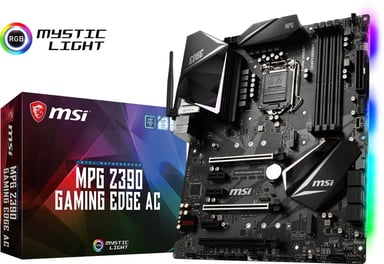 MSI Z390 MPG Gaming Edge AC ATX Moderkort