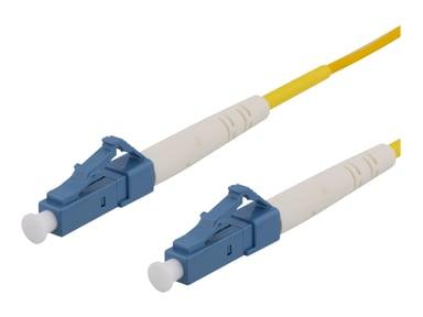 Deltaco Nätverkskabel LC/UPC LC/UPC OS2 1m 1m